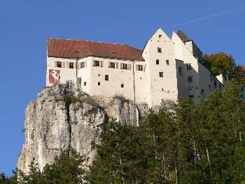 Ausflugsziele Deutschland Reiseführer Bayern - Burg Brunn im Altmühltal