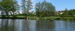 Ruhige Ferienwohnungen am See zum Entspannen in Alleinlage