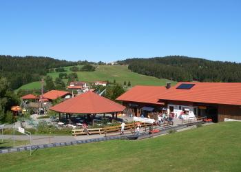 Freizeitangebote Urlaub Ostbayern Sankt Englmar Sommerrodelbahn