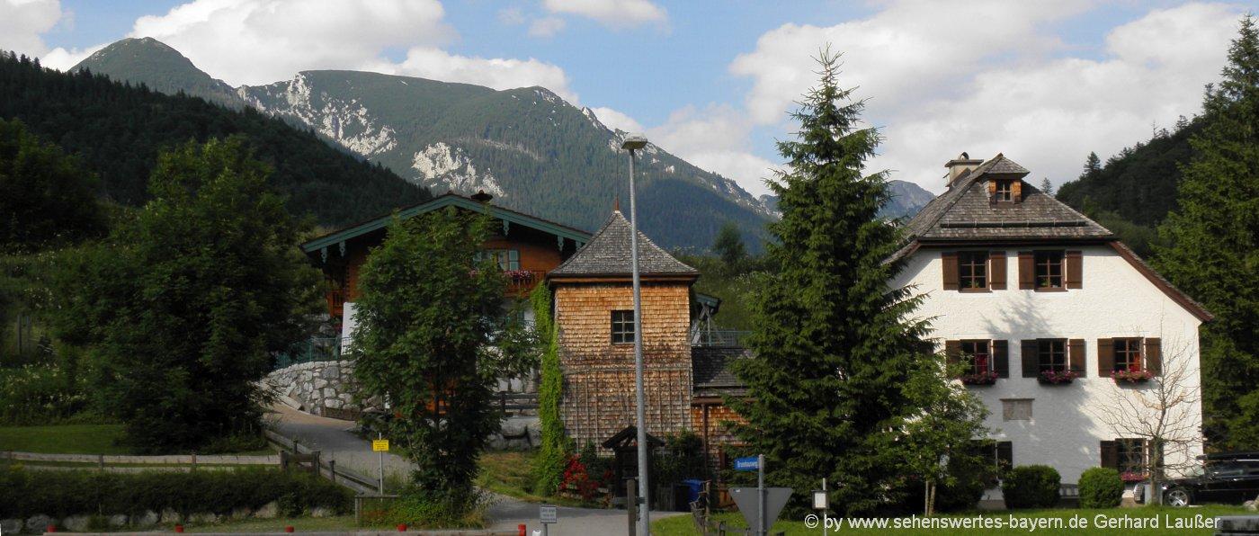 schneizlreuth-ausflugsziele-weissbach-sehenswürdigkeiten-brunnhaus-ansicht