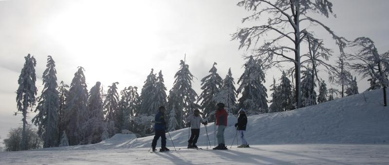 Skiurlaub Bayern/Österreich Skifahren Hochficht Böhmerwald