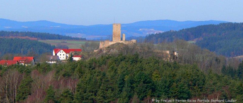 Sehenswürdigkeiten Vohenstrauß Ausflugsziele Burg Waldau