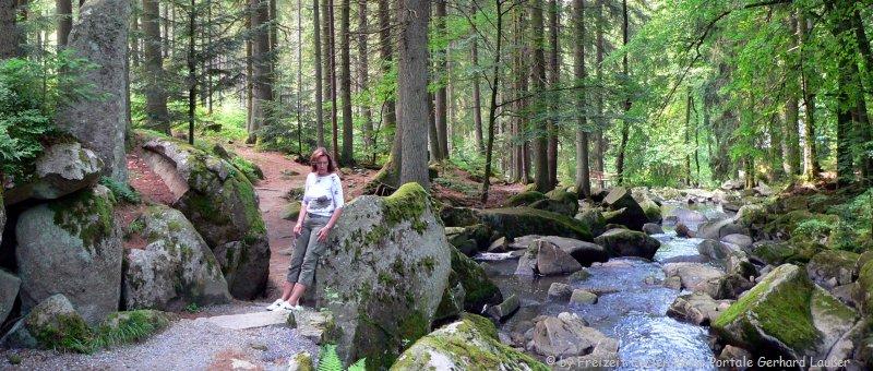 Wandergebiet Saußbachklamm Waldkirchen Bayerischer Wald