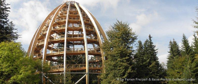 Sehenswürdigkeiten Bayerischer Wald Ausflugsziele Waldwipfelweg