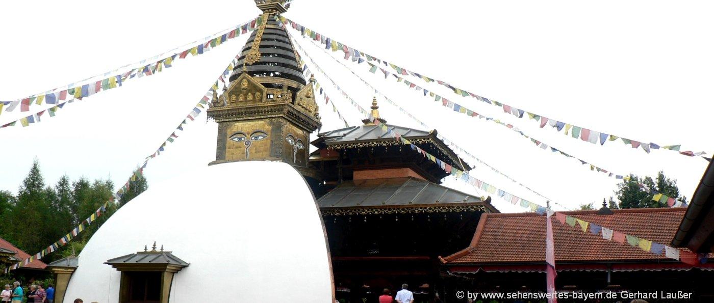 Nepal Tempel Regensburg