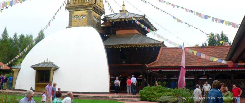 Nepal Himalaya Pavillon Tempel Regensburg