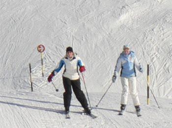 Familien Skiurlaub in Deutschland Skifahren in Bayern