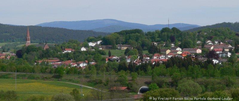 Stadt Zwiesel Bayerischer Wald Glasstadt